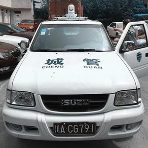 揚塵治理執法車載移動揚塵監測監控設備