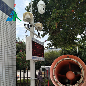 揚塵噪音八項在線監測預警聯動治理儀